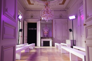 SHEIN FASHION SHOW AND SHOOTING